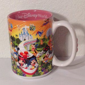Walt Disney World 3-D MOM Coffee Mug
